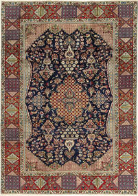 Najafabad Rug 220X317 Authentic  Oriental Handknotted Light Brown/Black (Wool, Persia/Iran)