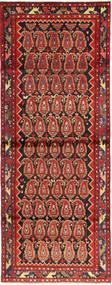Hamadán Szőnyeg 108X297 Keleti Csomózású Rozsdaszín/Sötétpiros (Gyapjú, Perzsia/Irán)