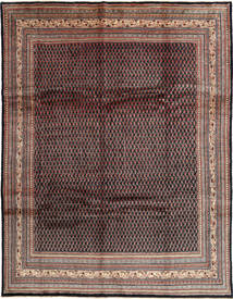 Sarouk Mir Rug 272X352 Authentic  Oriental Handknotted Dark Brown/Brown Large (Wool, Persia/Iran)