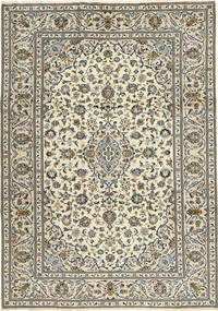 Keshan Rug 243X345 Authentic  Oriental Handknotted Beige/Dark Grey (Wool, Persia/Iran)