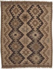 Kilim Maimane Szőnyeg 153X202 Keleti Kézi Szövésű Barna/Világosbarna (Gyapjú, Afganisztán)