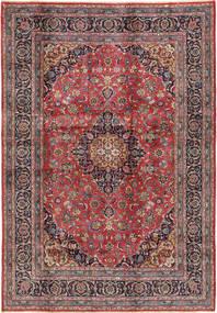 Kashmar Matto 200X288 Itämainen Käsinsolmittu Vaaleanharmaa/Ruskea (Villa, Persia/Iran)