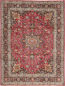 Mashad Rug 250X338 Authentic  Oriental Handknotted Light Brown/Dark Red Large (Wool, Persia/Iran)