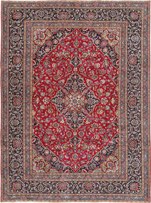 Kashmar Patina Rug 240X334 Authentic  Oriental Handknotted Dark Red/Light Grey (Wool, Persia/Iran)