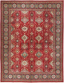 Tabriz Patina Rug 295X390 Authentic  Oriental Handknotted Brown/Dark Red Large (Wool, Persia/Iran)
