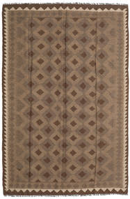 Kilim Maimane Rug 168X259 Authentic  Oriental Handwoven Brown/Dark Brown (Wool, Afghanistan)