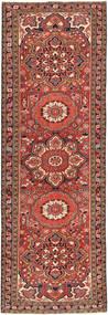 Heriz Patina Tæppe 103X330 Ægte Orientalsk Håndknyttet Tæppeløber Mørkerød/Lysebrun (Uld, Persien/Iran)