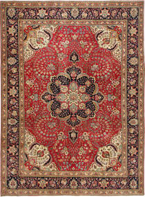 Tabriz Patina Rug 254X347 Authentic  Oriental Handknotted Dark Red/Brown Large (Wool, Persia/Iran)