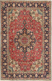 Tabriz Patina Rug 190X297 Authentic  Oriental Handknotted Light Brown/Dark Red (Wool, Persia/Iran)