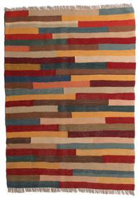 Kilim Tappeto 85X117 Orientale Tessuto A Mano Rosso Scuro/Marrone Chiaro (Lana, Persia/Iran)