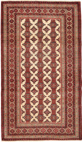 Turkaman Patina Alfombra 110X192 Oriental Hecha A Mano Rojo Oscuro/Marrón Oscuro (Lana, Persia/Irán)