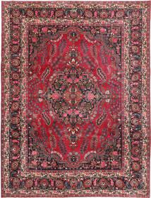 Rashad Patina Signatur: Gulbafian Tæppe 257X334 Ægte Orientalsk Håndknyttet Mørkerød/Mørkeblå Stort (Uld, Persien/Iran)