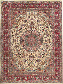 Mashad Patina Alfombra 250X340 Oriental Hecha A Mano Marrón/Rojo Oscuro Grande (Lana, Persia/Irán)