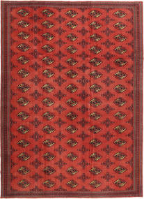 Turkaman Patina Rug 240X337 Authentic  Oriental Handknotted Rust Red/Dark Red (Wool, Persia/Iran)