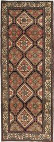 Hamadan Patina Matta 105X285 Äkta Orientalisk Handknuten Hallmatta Mörkgrå/Brun (Ull, Persien/Iran)