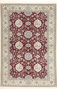 Nain 6La Habibian Matto 155X234 Itämainen Käsinsolmittu Vaaleanruskea/Beige (Villa/Silkki, Persia/Iran)