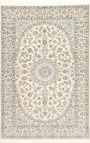 Nain 6La Habibian Rug 170X260 Authentic  Oriental Handknotted Beige/Light Brown (Wool/Silk, Persia/Iran)