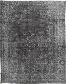 Colored Vintage Rug 285X365 Authentic  Modern Handknotted Dark Grey/Light Grey Large (Wool, Persia/Iran)