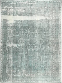 Colored Vintage Rug 285X385 Authentic  Modern Handknotted Light Grey/Dark Grey Large (Wool, Persia/Iran)