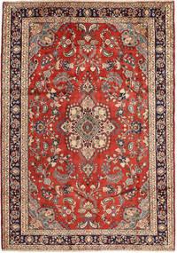 Hamadan Rug 208X295 Authentic  Oriental Handknotted Dark Red/Rust Red (Wool, Persia/Iran)