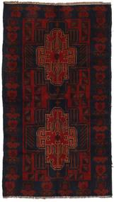 Beludż Dywan 103X189 Orientalny Tkany Ręcznie Ciemnoczerwony (Wełna, Afganistan)