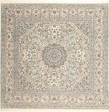 Nain 6La Habibian Matto 248X250 Itämainen Käsinsolmittu Neliö Vaaleanruskea/Beige (Villa/Silkki, Persia/Iran)