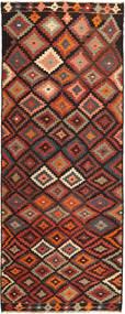 Kelim Fars Vloerkleed 147X375 Echt Oosters Handgeweven Tapijtloper (Wol, Perzië/Iran)
