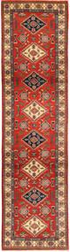 Kazak Matto 80X314 Itämainen Käsinsolmittu Käytävämatto Ruoste/Tummanpunainen (Villa, Pakistan)