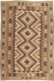 Kilim Maimane Dywan 190X285 Orientalny Tkany Ręcznie Jasnobrązowy/Brązowy (Wełna, Afganistan)