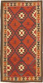 キリム マイマネ 絨毯 99X196 オリエンタル 手織り オレンジ/茶 (ウール, アフガニスタン)
