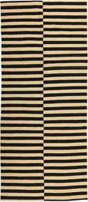 Kilim Modern Rug 158X375 Authentic  Modern Handknotted Hallway Runner  Dark Grey/Beige (Wool, Afghanistan)