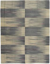 Kilim Modern Rug 183X231 Authentic  Modern Handknotted Dark Grey/Olive Green/Light Grey (Wool, Afghanistan)