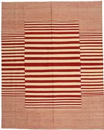 Kelim Moderni Matto 188X233 Moderni Käsinsolmittu Ruoste/Tummanpunainen/Tummanbeige (Villa, Afganistan)