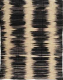 Kilim Modern Rug 177X236 Authentic  Modern Handknotted Black/Light Brown (Wool, Afghanistan)