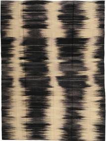 Kilim Modern Rug 179X236 Authentic  Modern Handknotted Black/Dark Brown (Wool, Afghanistan)