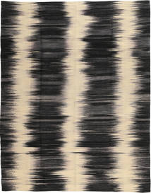 Kilim Modern Rug 183X235 Authentic  Modern Handknotted Black/Light Brown/Dark Grey (Wool, Afghanistan)
