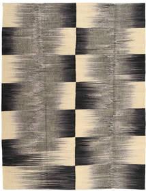 キリム モダン 絨毯 181X230 モダン 手織り 濃いグレー/薄茶色 (ウール, インド)