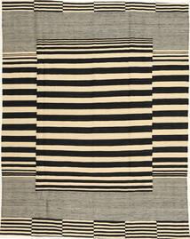 キリム モダン 絨毯 181X230 モダン 手織り 黒/ベージュ/オリーブ色 (ウール, アフガニスタン)