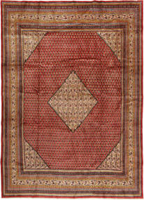 Sarouk Mir Rug 250X355 Authentic  Oriental Handknotted Dark Brown/Light Brown Large (Wool, Persia/Iran)
