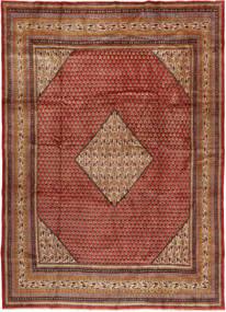 Sarough Mir Alfombra 250X355 Oriental Hecha A Mano Rojo Oscuro/Marrón Oscuro Grande (Lana, Persia/Irán)