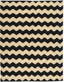 Kelim Moderne Teppe 184X235 Ekte Moderne Håndknyttet Svart/Lysbrun/Beige (Ull, Afghanistan)