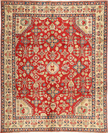 Kazak Rug 285X348 Authentic  Oriental Handknotted Rust Red/Light Brown Large (Wool, Pakistan)