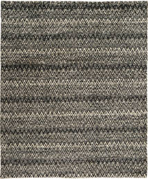 Barchi/Moroccan Berber Rug 235X292 Authentic  Modern Handknotted Dark Grey/Black/Light Grey (Wool, Pakistan)
