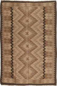 Kilim Maimane Rug 187X286 Authentic  Oriental Handwoven Brown/Light Brown (Wool, Afghanistan)