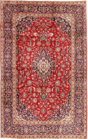 Keshan Matto 196X307 Itämainen Käsinsolmittu Ruskea/Ruoste (Villa, Persia/Iran)