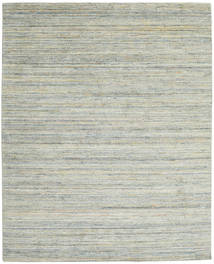 Mazic - Green_Grey Rug 240X300 Authentic  Modern Handknotted Light Grey/Beige (Wool/Bamboo Silk, India)