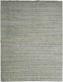 Mazic - Green_Grey Rug 300X390 Authentic  Modern Handknotted Light Grey/Dark Grey Large (Wool, India)