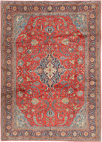 Sarouk Rug 240X340 Authentic  Oriental Handknotted Dark Grey/Brown (Wool, Persia/Iran)