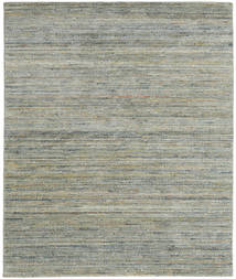 Mazic - Green_Grey Rug 190X240 Authentic  Modern Handknotted Light Grey/Dark Grey (Wool, India)