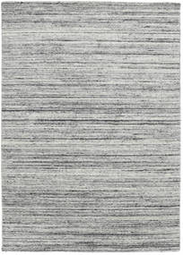 Mazic - Grey Rug 140X200 Authentic  Modern Handknotted Light Grey/Turquoise Blue (Wool, India)